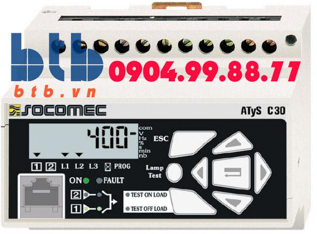 Bộ điều khiển cho ATS C30 Socomec