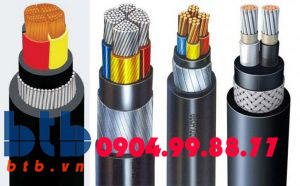 Cadivi Cáp điện CXV/DSTA-3×95-0.6/1kv