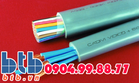 Cadivi Cáp điều khiển DVV-5×4(5×1/0.85)-0.6/1kv
