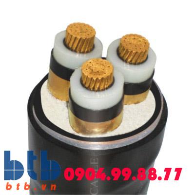 Trần phú Cáp ngầm 3×300 (Cuc/XLPE/pvc/DSTA/PVC 0.6/1kv)