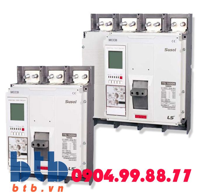 Aptomat 4P 300A -50kA- không chỉnh dòng