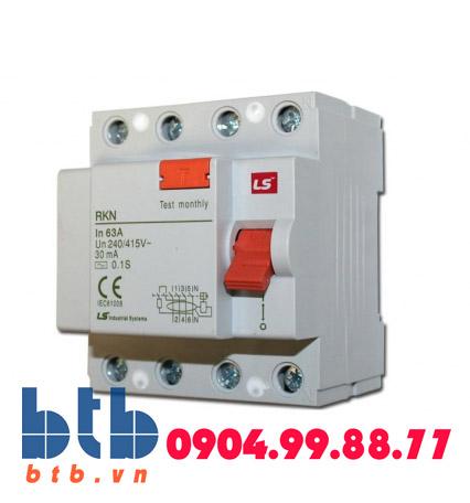 Aptomat chống rò điện 4P -25A -30mA