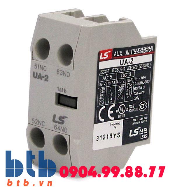 Tiếp điểm phụ bên trên 2NO+2NC dùng cho MC-6A-150A