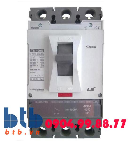 Aptomat 3P 50A-50kA chỉnh dòng ( nhiệt )3 bước