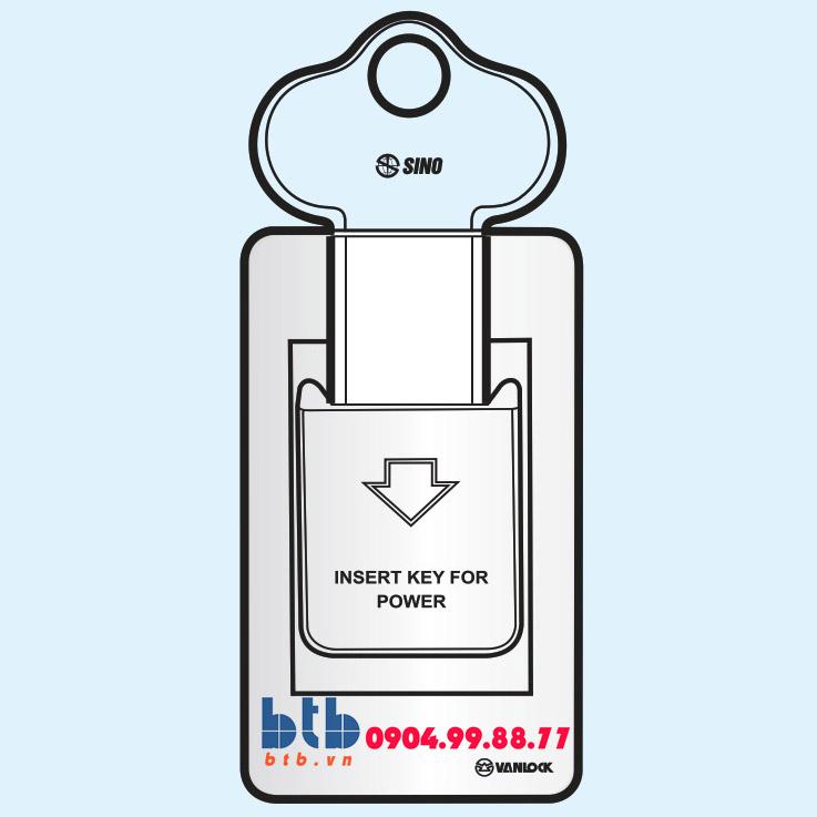 Sino SC Bộ chìa khóa ngắt điện có đèn báo A
