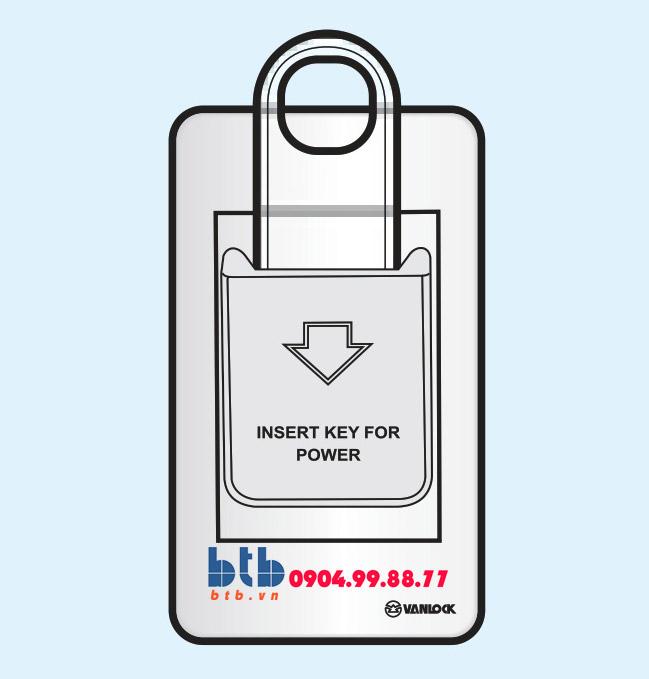 Sino SC Bộ chìa khóa ngắt điện có đèn báo B