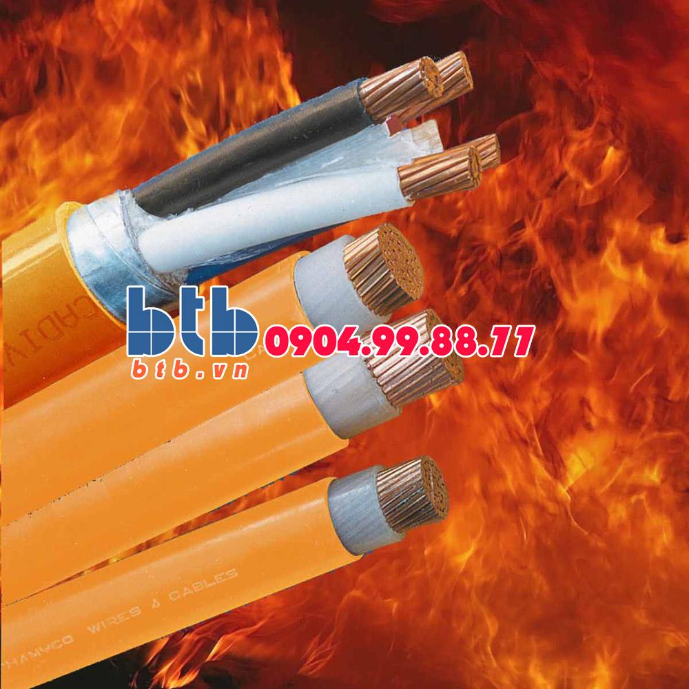 Cadivi Cáp chống cháy CXV/FR -4×95-0.6/1kV