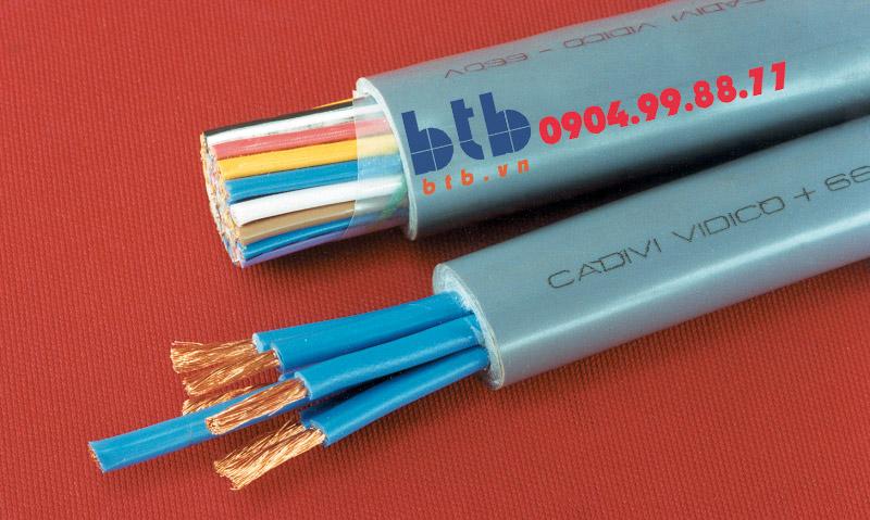 Cadivi Cáp điều khiển DVV/SC-19×01.5(19×1/0.52)-0.6/1kv