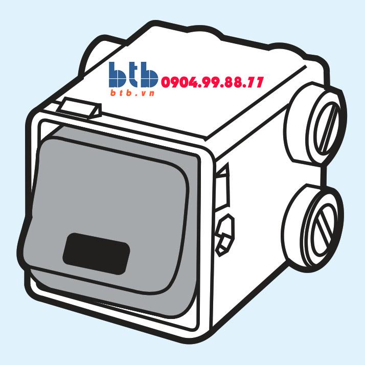 Sino S668G Công tắc 2 cực 20A có miếng báo đỏ