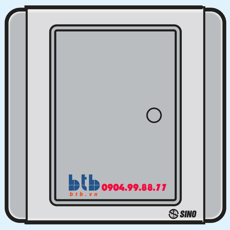 Sino S66DG Công tắc đơn 1 chiều phím lớn có dạ quang