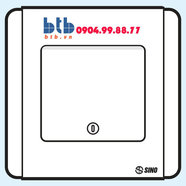 Sino S66SD Công tắc đơn 2 chiều phím lớn