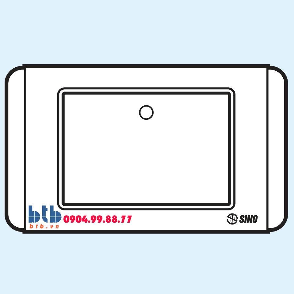 Sino S68D Công tắc đơn 1 chiều phím lớn có dạ quang