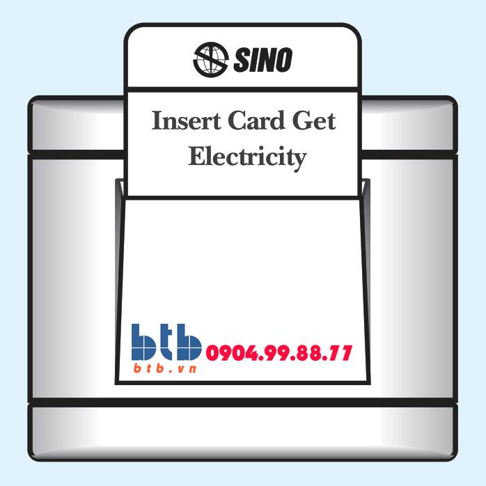 Sino S98 Công tắc dùng thẻ từ có thời gian chạy chậm