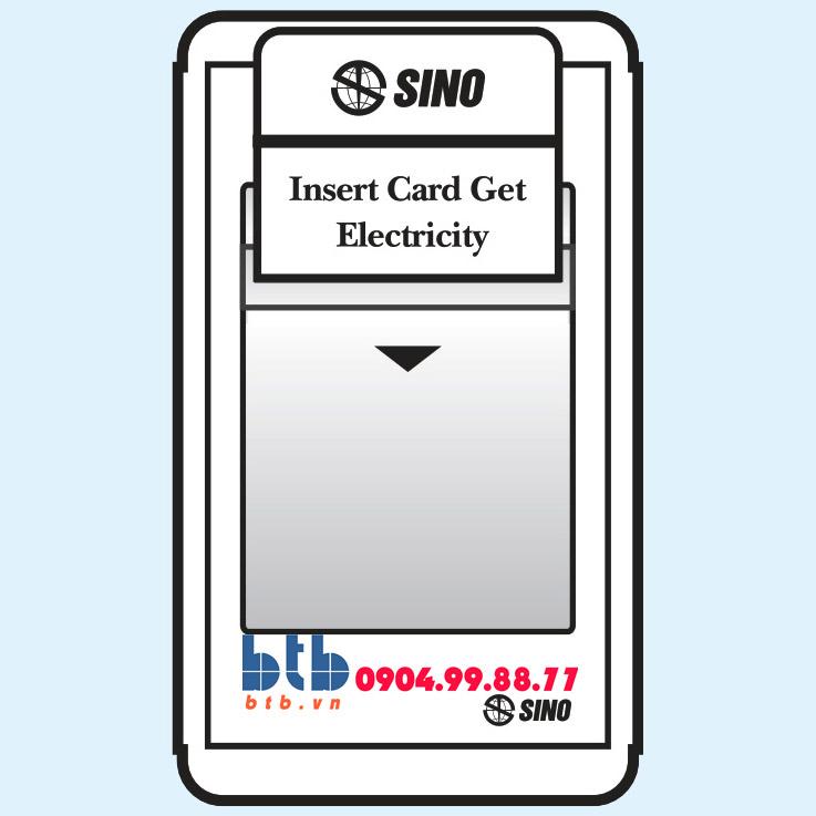 Sino S68E Công tắc dùng thẻ từ có thời gian chạy chậm