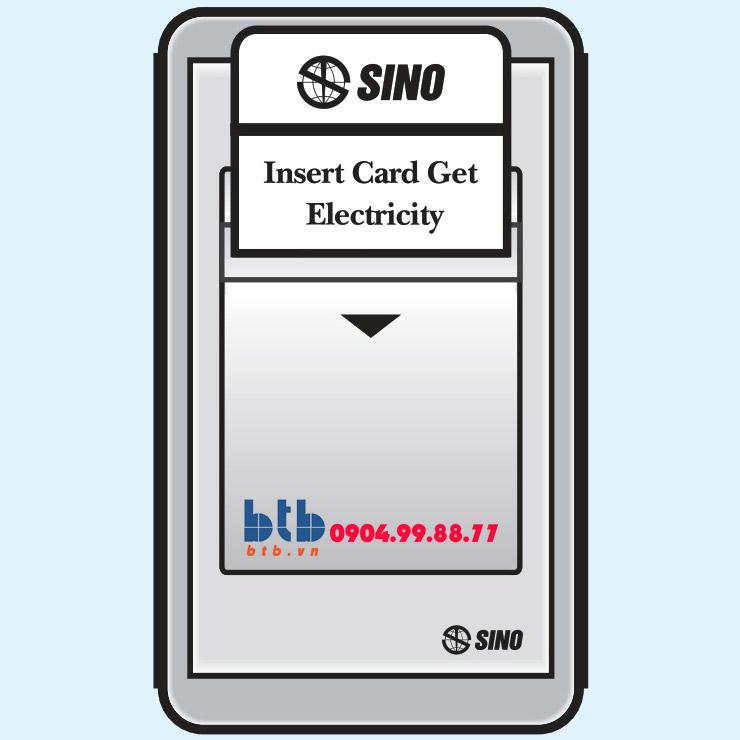Sino S68G Công tắc dùng thẻ từ có thời gian chậm