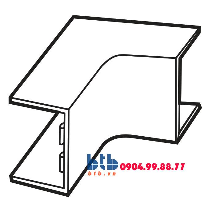 Sino Cút chữ L dẹt góc trong 39×18