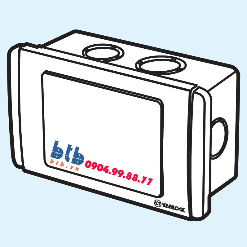 Sino Hộp nối dây dùng trong nội thất kiểu mặt S68