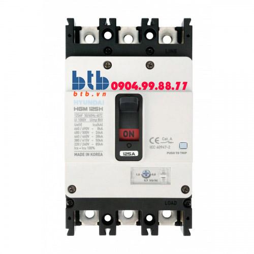 Hyundai Aptomat 3P 175A-55kA – chỉnh dòng nhiệt