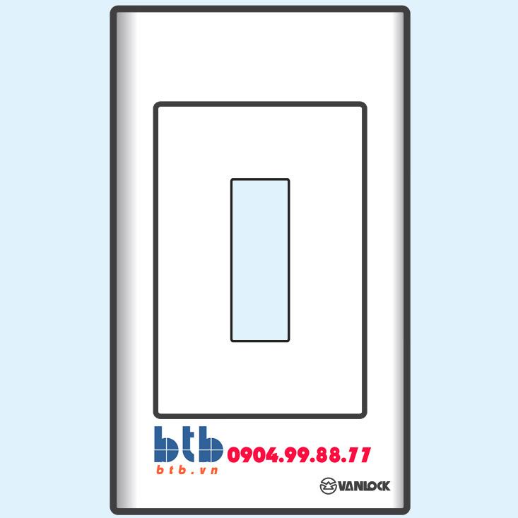 Sino S18 Mặt nhựa chứa 1 MCCB kiểu A và B