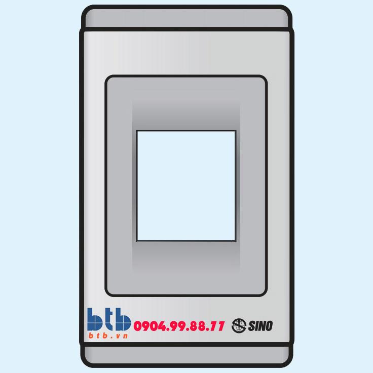Sino S68G Mặt nhựa chứa 1 MCCB kiểu B