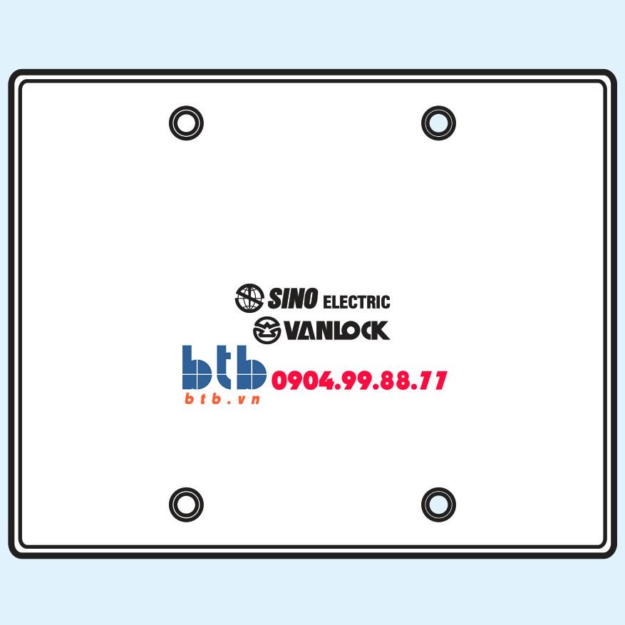 Sino Nắp đậy dùng cho mặt đế âm nhựa mặt 4/6 module