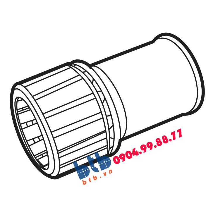 Sino Nối thẳng ống đàn hồi với ống tròn cứng phi 25