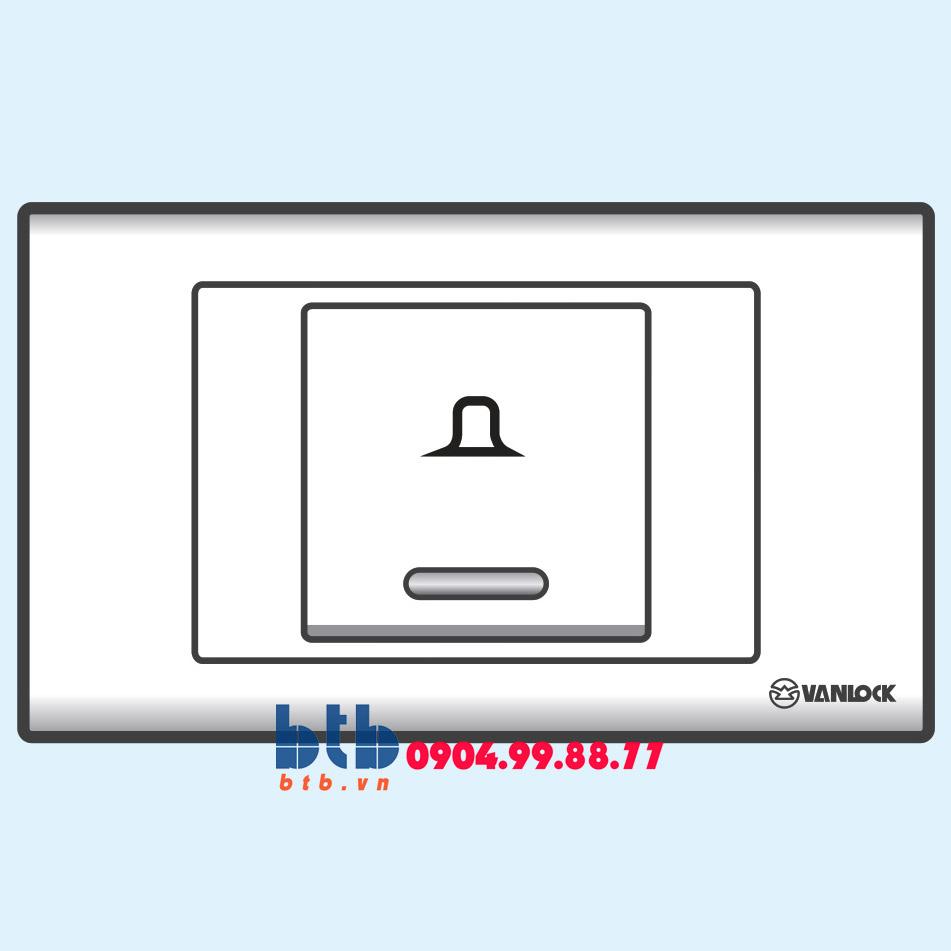 Sino S18 Nút chuông bản rộng có đèn báo xanh