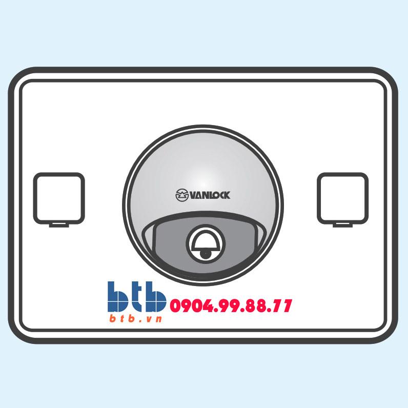 Sino S18 Nút chuông chống thấm + đèn báo