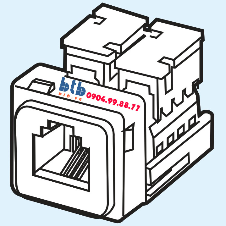 Sino Ổ cắm điện thoại 4 dây A96