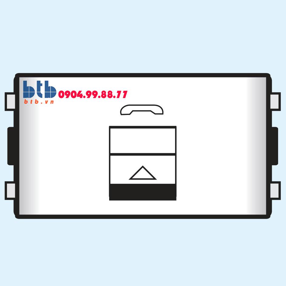 Sino SC Ổ cắm điện thoại 4 dây có màn che