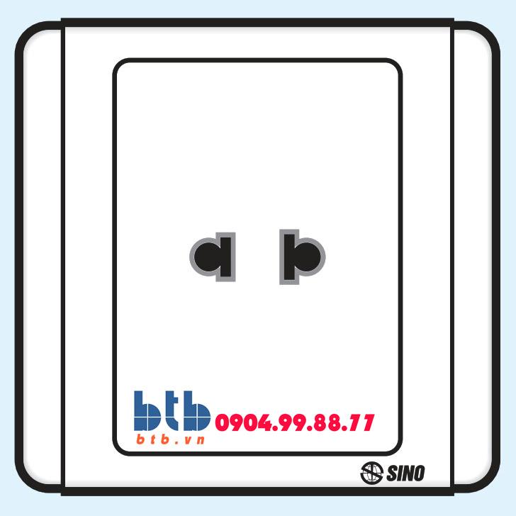 Sino S66 Ổ cắm đơn 2 chấu