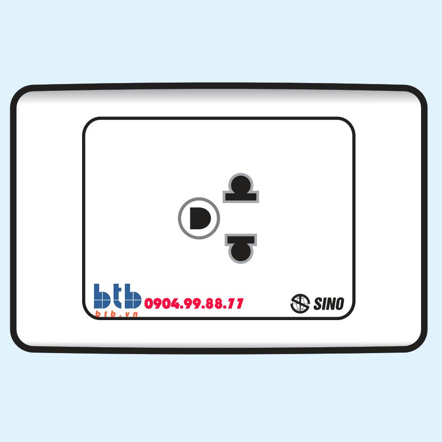 Sino S9M Ổ cắm đơn 3 chấu