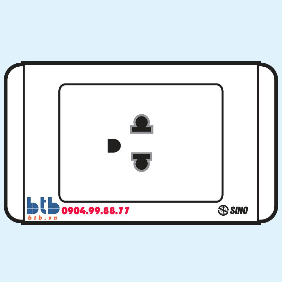 Sino S68 Ổ cắm đơn 3 chấu