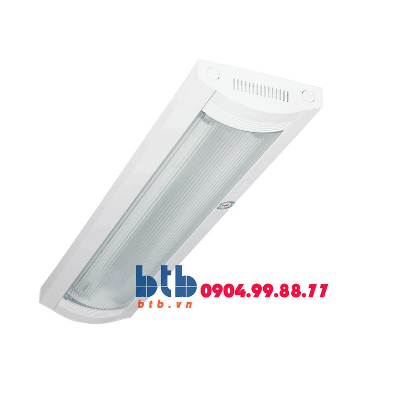 Paragon Bộ đèn lắp nổi chóa nhựa PCFA 218 chấn lưu sắt từ