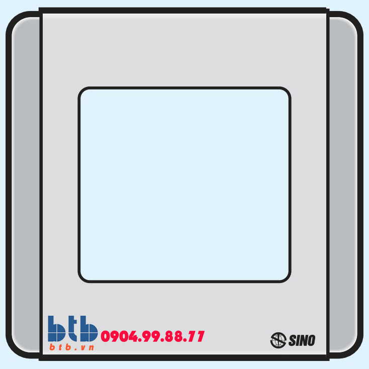 Sino S66SDG Viền đơn sơn ánh bạc