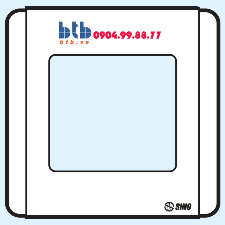 Sino S66SD Viền đơn sơn ánh bạc