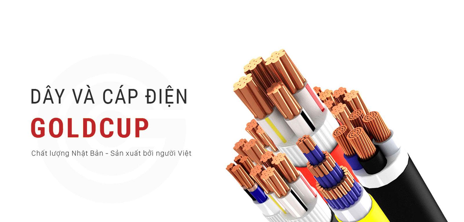 Bảng giá dây điện GoldCup