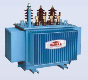 Máy biến áp phân phối cách điện dầu