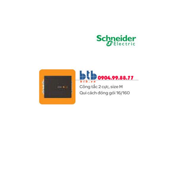 Schneider – Công tắc 2 cực 20A size M