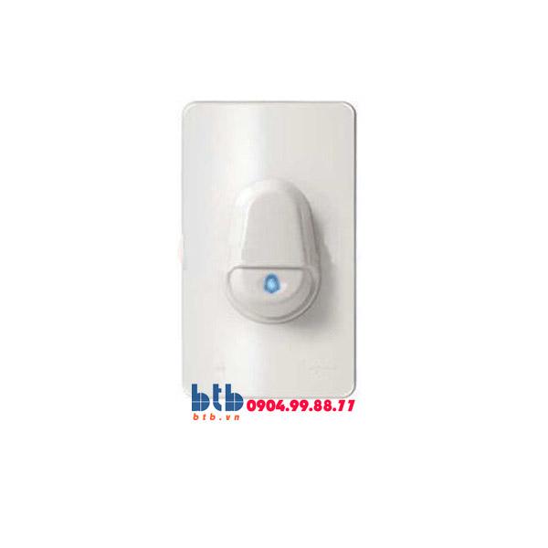 Schneider – Nút nhấn chuông IP44, màu trắng
