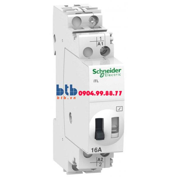 Schneider – Rờ-le Acti9 điều khiển bằng tín hiệu xung, iTL, ON-OFF switch 1NO 16A