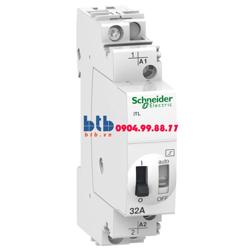 Schneider – Rờ-le Acti9 điều khiển bằng tín hiệu xung, iTL, ON-OFF switch 1NO 32A