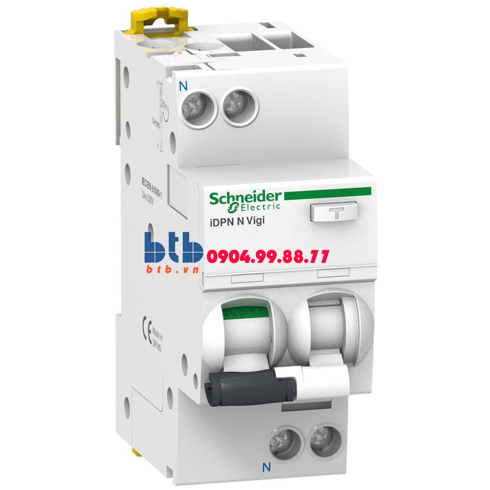 Schneider – RCBO-1P+N, 6kA, 30mA 25A