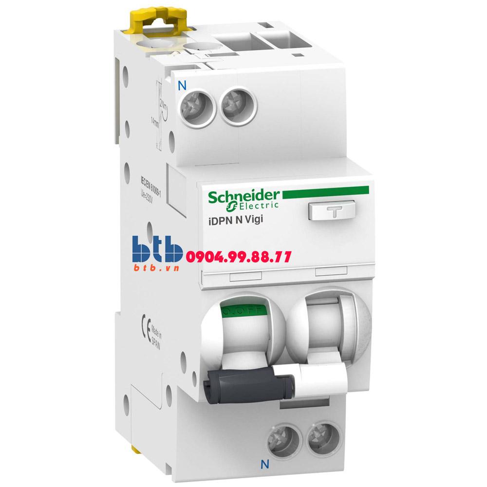 Schneider – RCBO-1P+N, 6kA, 300mA 6A