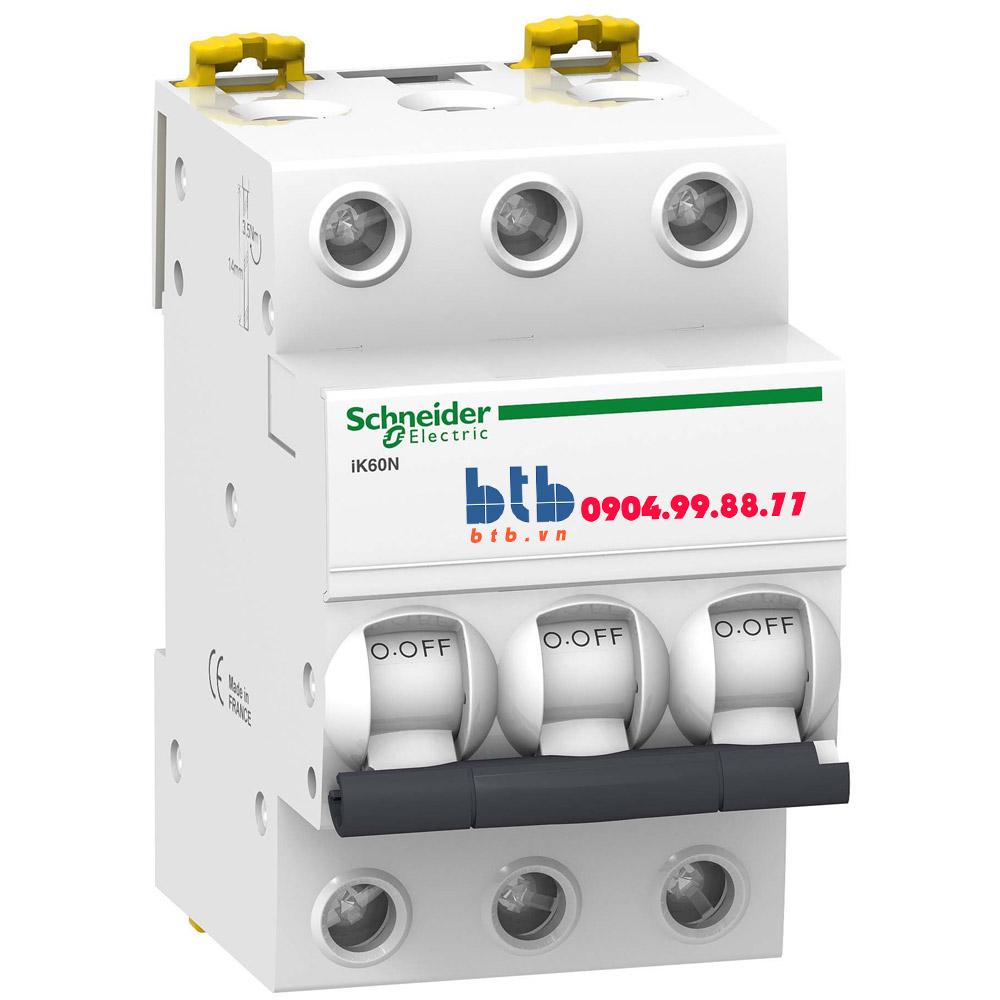 Schneider – iK60N MCB 3P,6kA,400V, C curve 50A