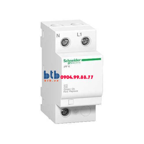 Schneider – Thiết bị chống sét lan truyền Acti 9-iPF K, loại 2, 1P+N, 230V, Fixed 40kA