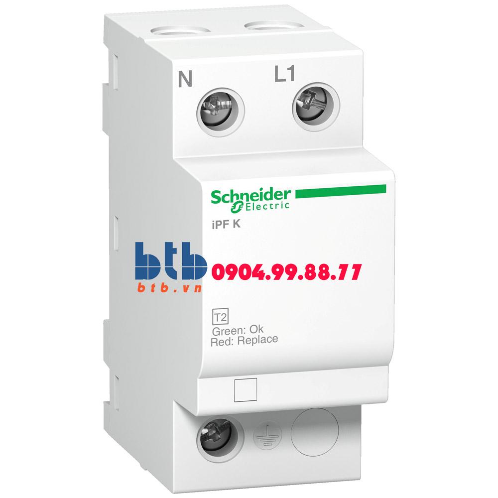 Schneider – Thiết bị chống sét lan truyền Acti 9-iPF K, loại 2, 1P+N, 230V, Fixed 20kA