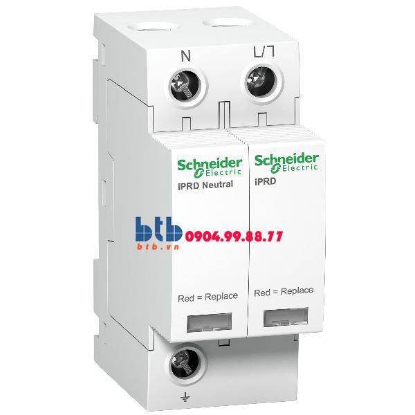Schneider – Thiết bị chống sét lan truyền Acti 9-iPRD, loại 2, 1P+N, 230V, Draw-out 20kA