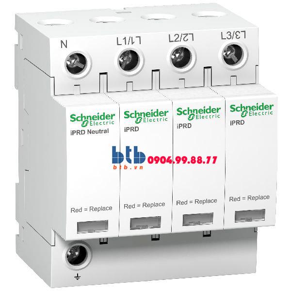 Schneider – Thiết bị chống sét lan truyền Acti 9-iPRD, loại 2, 3P+N, 400V, Draw-out 20kA