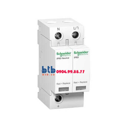 Schneider – Thiết bị chống sét lan truyền Acti 9-iPRD, loại 2, 1P+N, 230V, Draw-out 40kA